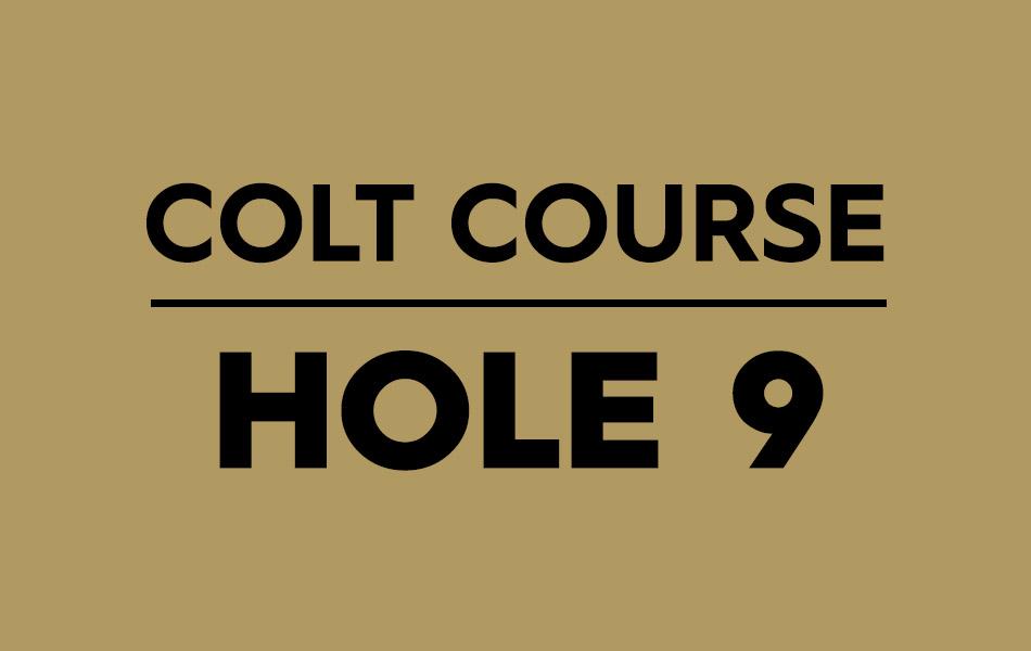 Colt Course – Hole 9