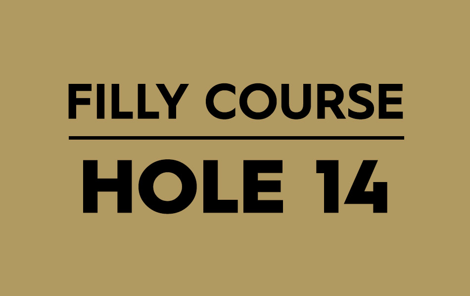 Filly Course – Hole 14