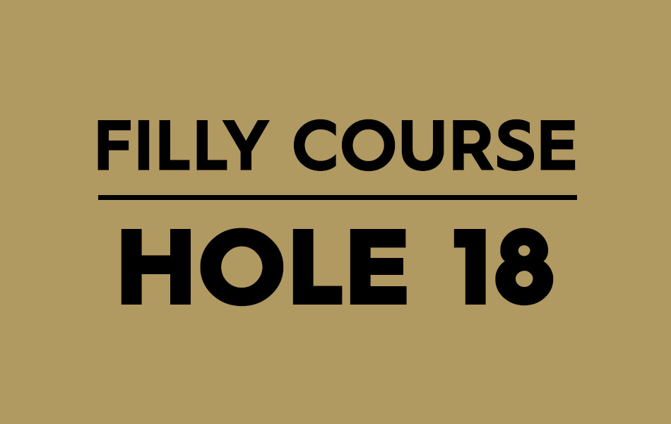 Filly Course – Hole 18